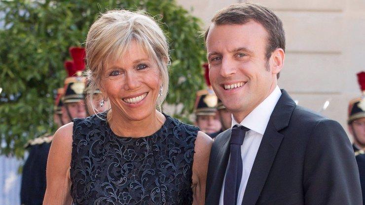 Francie řeší jediné! A to TĚHOTENSTVÍ první dámy Macronové!