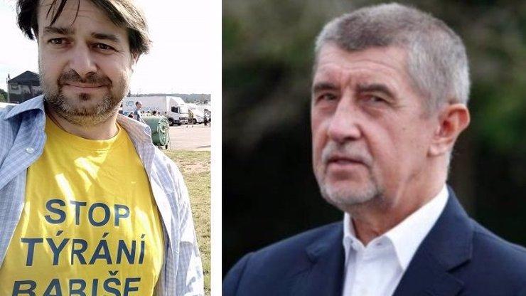 Největší bizár nedělní demonstrace: Týraného Babiše bránil Macura od Ivety Bartošové