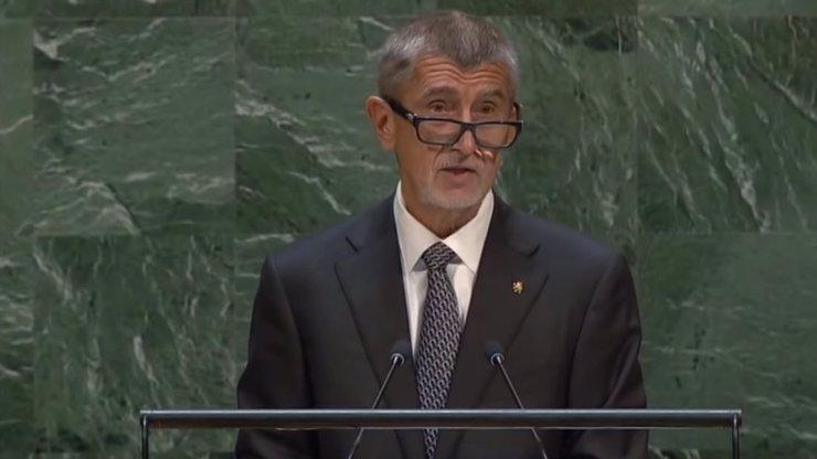 Co řekl premiér Andrej Babiš na Valném shromáždění OSN? Tady je celý projev