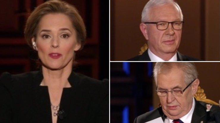 Nuda k uzoufání! Vítězkou prezidentského duelu je Světlana Witowská, kráska zastínila Zemana s Drahošem