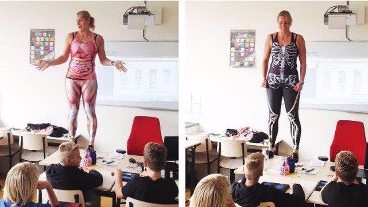 Je tohle nejsuprovější učitelka biologie? Děti její školu hrou milují!