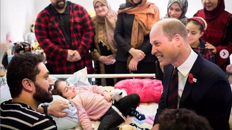 Velké srdce: Holčička (5) se probrala z kómatu, na posteli jí seděl princ William (36)