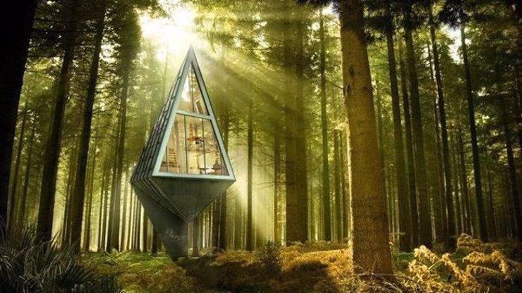 Podívejte se, jak mají vypadat ekologické domy budoucnosti! Chtěli byste v něčem takovém bydlet?