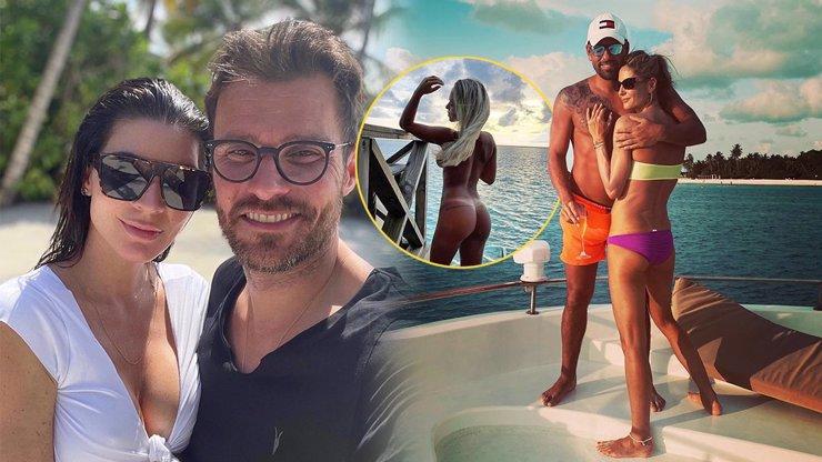 Mají bezedná konta? Za Marešovými se na Maledivy sjíždějí další celebrity jak do Chorvatska