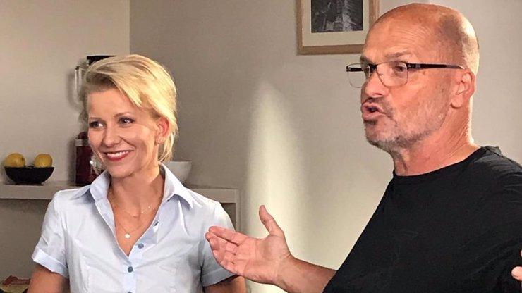 Vycházející televizní hvězda Iveta Fabešová: Zažívá krušné časy, přišla o manžela i slavnou cukrárnu