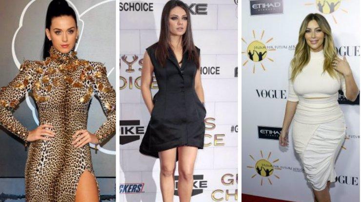 5 zahraničních celebrit a jejich těla: Víte, kolik doopravdy váží?