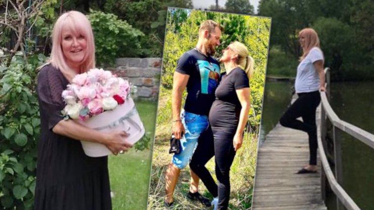 Těhotné Vendule Pizingerové (48) už roste bříško: S manželem vyrazila na výlet do přírody