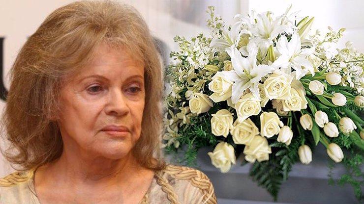 Pohřeb Evy Pilarové v úzkém kruhu: Manžel s sebou vzal vdovu po Nekonečném