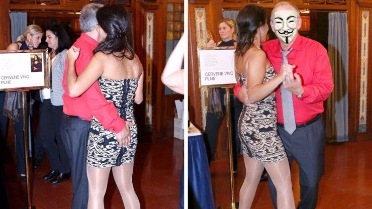 Smím prosit? Tipněte si, kdo předvedl se svojí o 40 let mladší milenkou lehce erotický tanec?