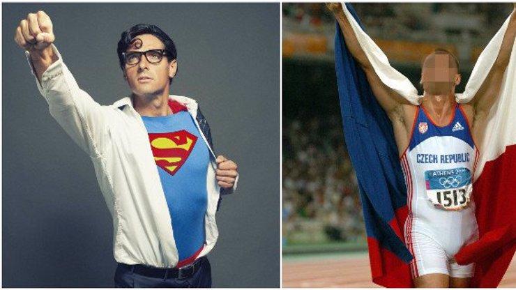 Kdopak je tento fešný Superman? Svaly a naditý rozkrok dříve ukazoval v upnutém dresu