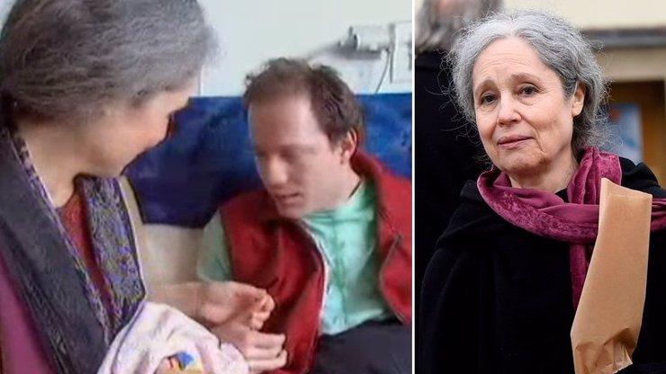 Celoživotní bolest Taťany Fischerové (†72): Syn Kryštof (43) trpí dětskou mozkovou obrnou