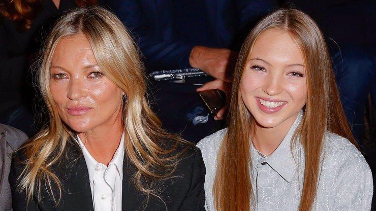 Kate Moss pomalu odkvétá: Její krásná dcera Lila Grace se dere na výsluní