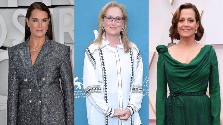 15 slavných žen, které opravdu umí stárnout s grácií: Plastikám říkají rázné ne