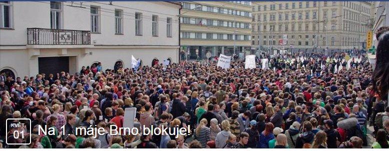 Brňáci se pochlapili: Tisíce jich budou blokovat pochod nácků městem! Pro méně chápavé natočili i instruktážní video!