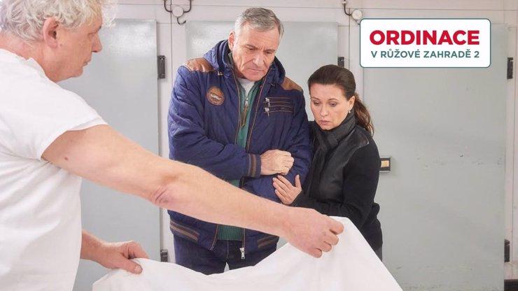 TĚLÍČKO HANIČKY V MÁRNICI?! Morávková s Čenským zažijí v Ordinaci NEJVĚTŠÍ ŠOK