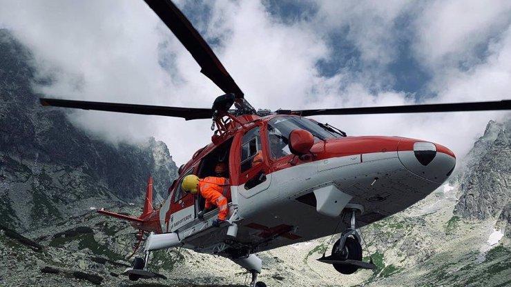 Zázrak, že přežil: Český turista spadl ze 40 metrů pod Gerlachem v Tatrách, těžce se zranil