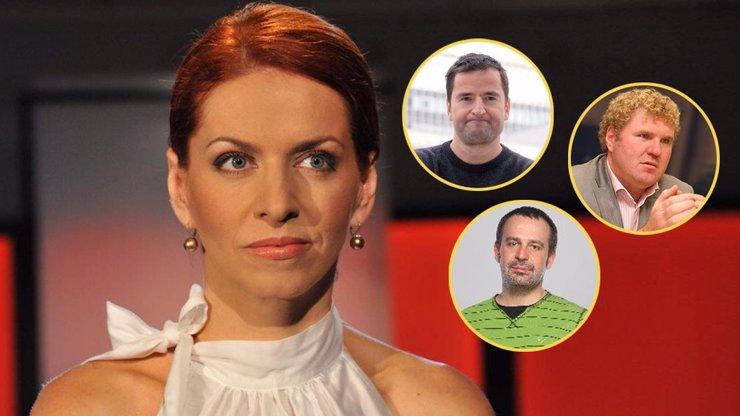 Osudoví muži Nory Fridrichové, která slaví 42 let: Všechny pojí práce v televizi