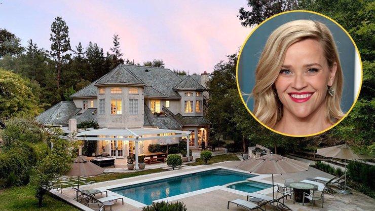 Reese Witherspoon koupila dům za téměř půl miliardy korun.