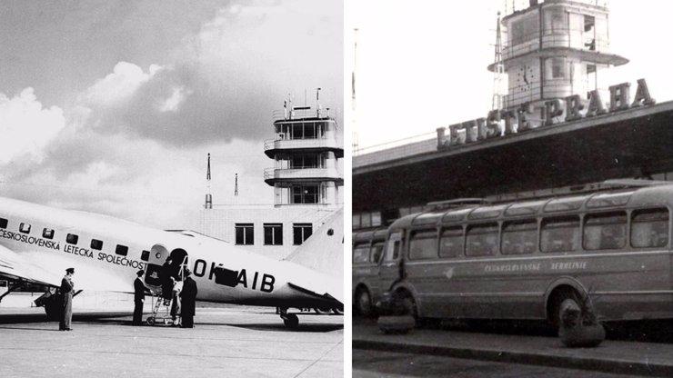 Letiště v Ruzyni má 82. narozeniny: Prohlédněte si unikátní fotky, jak dříve vypadalo