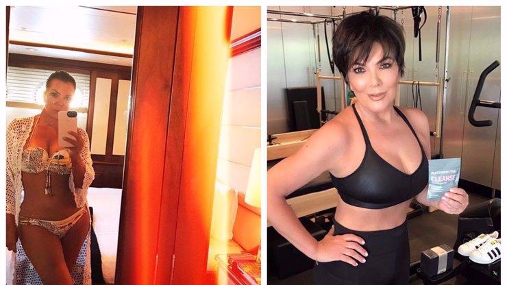 Kardashianky jsou na svou mamku právem pyšné! Kris Jenner (61) se nemusí bát ukázat v plavkách
