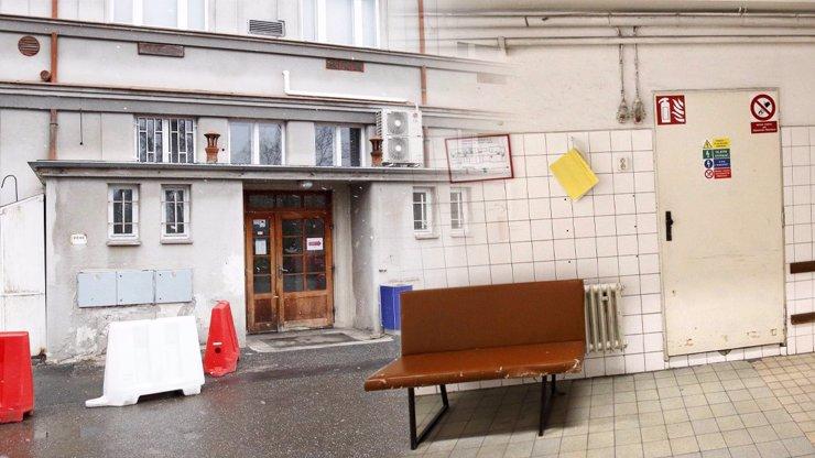 Zbídačená Bulovka: Takhle vypadají zchátralé prostory prestižní pražské nemocnice