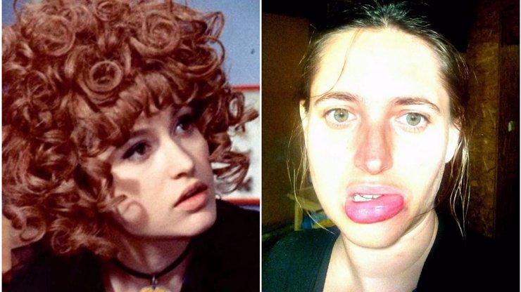Dcera filmové čarodějnice Saxany skončila na pohotovosti: Co jí znetvořilo obličej?