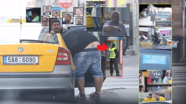 Mistři světa v taxislužbě! Desítka snědých zlodějů a jejich bílé kápo okrádají denně v srdci šampionátu fanoušky, policie se na to dívá!