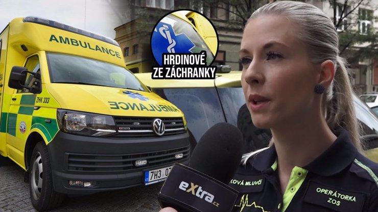 Hrdinové ze záchranek: Setkáváme se s agresí řidičů, říká mluvčí záchranářů