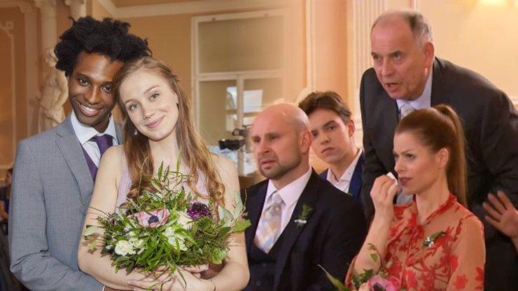 Velkolepá svatba v Ulici: Rozina do toho praštila s Victorem, slzy dojetí i nabroušený děda