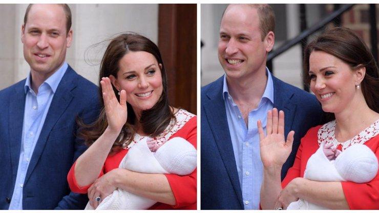 Ukázala královského cvalíka: Vévodkyně Kate pár hodin po porodu září štěstím!