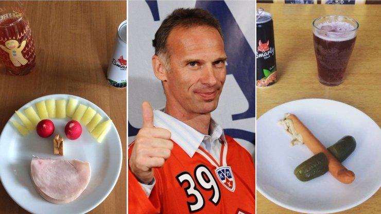 On slaví! Dominik Hašek má narozeniny, Facebook zásobuje gastronomickým bizárem