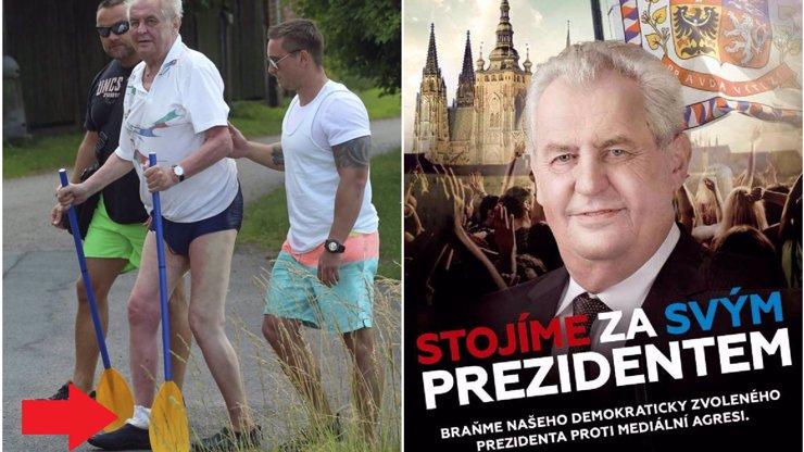 Lepší Zeman na vozíku, než Horáček se dvěma nohama: Češi se postavili za nemocného prezidenta!