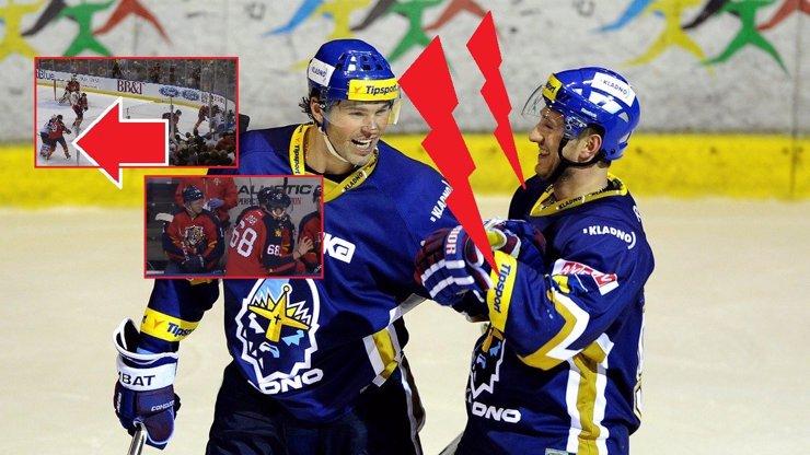 Jágr s Tlustým se málem porvali v NHL: Dvojnásobní švagři přes Agátu a Innu se asi moc nemusí!
