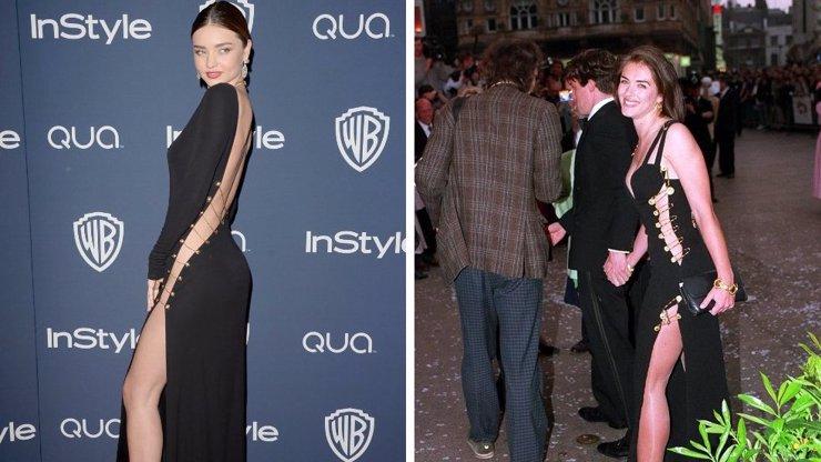 Miranda Kerr se objevila na Glóbech bez kalhotek: Nikoho to netankovalo! Když to exmatrace Hugha Granta udělala před 20 lety, byli všichni vydření...