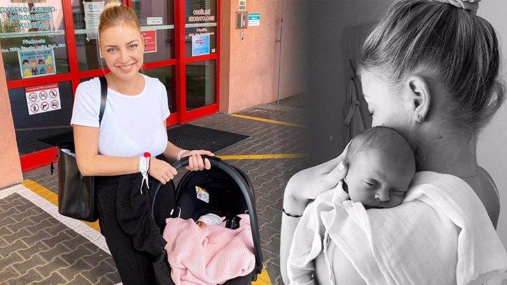 Markéta Konvičková se vrátila z porodnice: Velké přivítání nás nečekalo kvůli koronaviru