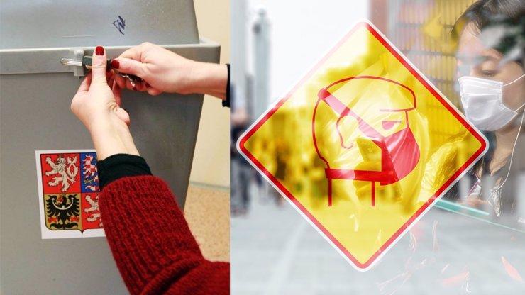 Krajské a senátní volby ovlivněné koronavirem: Pravidla, která budeme muset dodržet