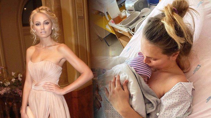 Tereza Fajksová je podruhé maminkou: Chlapeček s krásným jménem jí dal pořádně zabrat