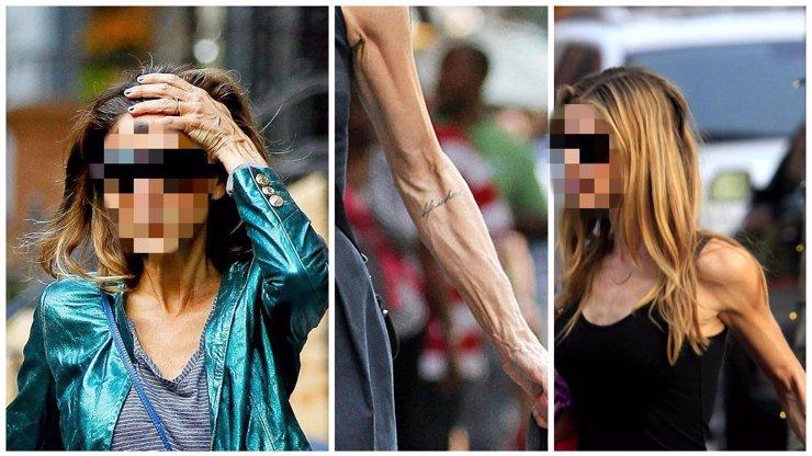 Kosti POTAŽENÉ kůží a pohled do PRÁZDNA: Tohle jsou ti největší KOSTLIVCI z celého Hollywoodu!