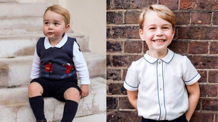 Oficiální fotka k 5. narozeninám prince George: Jeho úsměv vás dostane