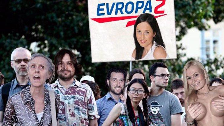Evropa 2 vyhlašuje stav obležení. Účast na zítřejší demonstraci potvrdil Martucci! Budeme u toho online!