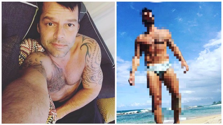 Ricky Martin ukázal vymakané svaly a ženy po celém světě roní slzy!