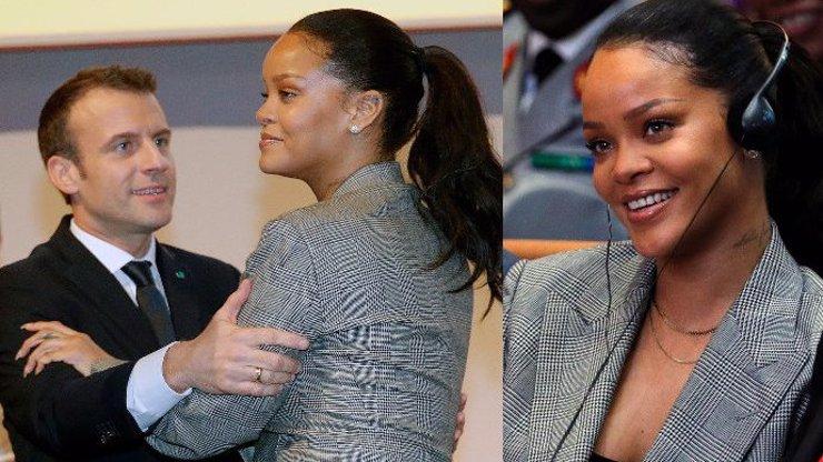 Rihanna pobláznila prezidenta Francie: Macron působil jako chlípný puberťák!
