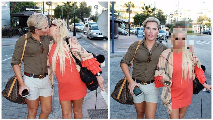 Živý Ken Rodrigo Alves má holku? Je mu docela podobná a také se jí rozpadá obličej!