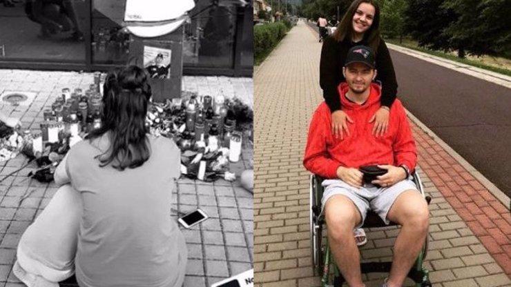 Jsi nejlepší táta navždy: Nad ztrátou Ondřeje Buchtely pláče zdrcená Anička se synem