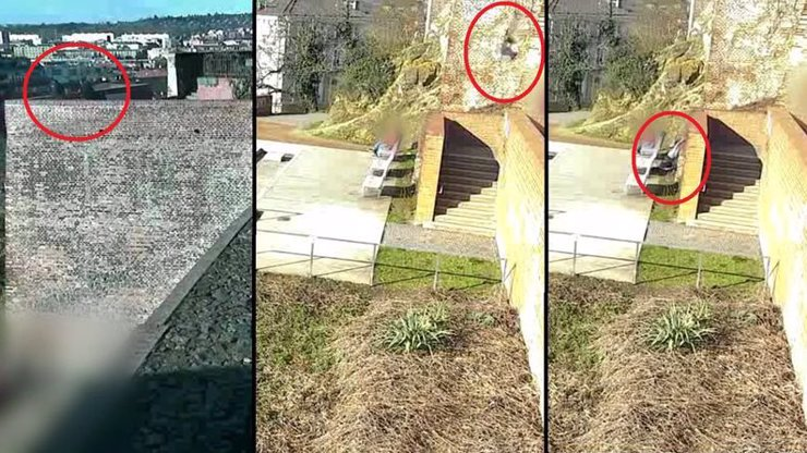 Děsivý moment: Opilá dívka (17) v Brně usnula a spadla z patnáctimetrové hradby