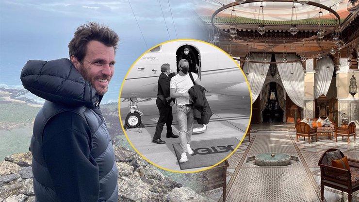 Leoš Mareš s Monikou vyrážejí dech: Na luxusní výlet za statisíce letěli soukromým tryskáčem