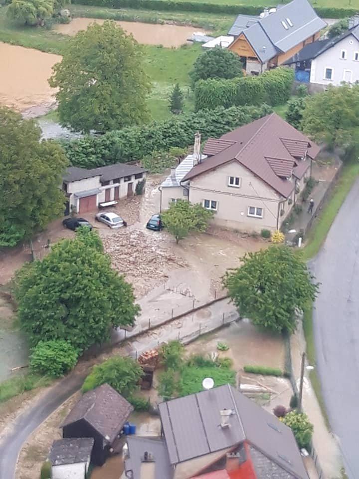 Devastující povodně na Olomoucku obrazem: 20 snímků zkázy a beznaděje obyvatel