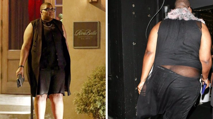 Syn Magica Johnsona šokuje svým stylem: Váží 150 kilo a nosí miniskuně!