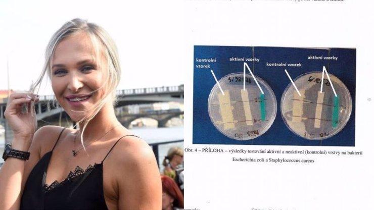 Spadla klec: Nela Slováková lhala zákazníkům o rouškách, oficiální zpráva laboratoře jako důkaz