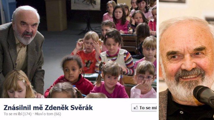 Nechutný útok na Zdeňka Svěráka: Na Facebooku ho označují jako zvráceného pedofila!